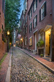 Beacon Hill in Boston Stock Photo