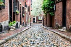 Free Beacon Hill, Boston, Massachusetts Stock Photos - 176931863