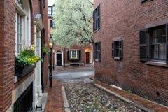 Free Beacon Hill, Boston, Massachusetts Stock Photos - 176932213