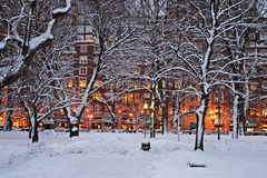 Beacon Hill, Boston Stock Images