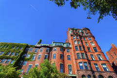 Beacon Hill Federal Style Architecture Royalty Free Stock Images