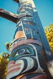 Beacon Hill Park Totem Pole Stock Photography