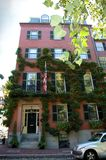 Beacon Hill's house, Boston stock images