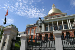 Beacon hill state house Royalty Free Stock Images