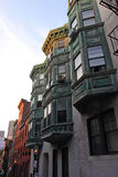 Beacon Hill is a wealthy neighborhood of Federal-style rowhouses, with some of the highest property values in the United States Stock Photo