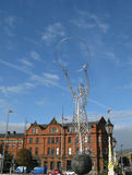 Beacon of Hope statue, or Thanksgiving Statue in Belfast Royalty Free Stock Photo