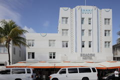 The Beacon Hotel Miami Beach Stock Image