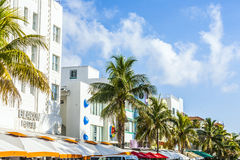 Beacon hotel at Ocean drive Stock Photography