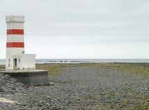 Beacon in Iceland Stock Photo