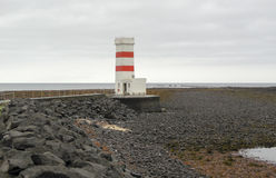 Beacon in Iceland Stock Images