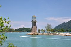 Beacon. A beacon in Langkawi,Malaysia Royalty Free Stock Images
