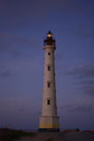 Beacon of Light Shining at Dawn in the Lighthouse Stock Images