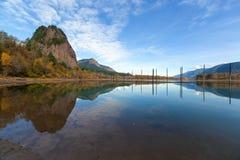 Beacon Rock Reflection