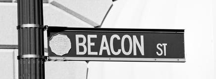 Beacon Street, Boston, MA Royalty Free Stock Photography