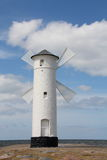 Beacon in Swinoujscie Royalty Free Stock Image