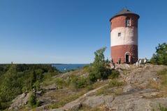 Beacon tower Arholma Stock Photography