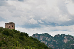 Beacon Tower. A beacon tower of Great Wall Royalty Free Stock Images