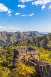 The Beacon Tower on the Great Wall Royalty Free Stock Photos