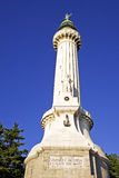 Beacon of the Victoria (italy,trieste) Royalty Free Stock Photo