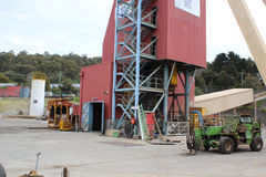Beaconsfield mine shaft Stock Photography