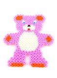 Bead arts in shape of bear Stock Image
