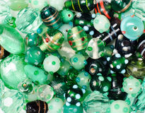 Bead background Stock Photo