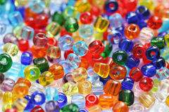Bead background Royalty Free Stock Photos