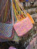 Bead Bags Royalty Free Stock Images