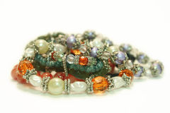 Bead Bracelets Royalty Free Stock Image