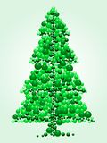 Bead Christmas tree Royalty Free Stock Photo