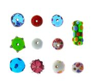Bead collection Stock Photo