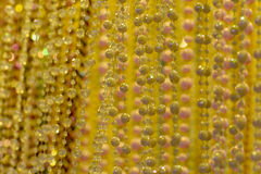 Bead curtain Royalty Free Stock Photo