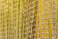 Bead curtain Royalty Free Stock Photography