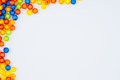 Bead Frame. A Colorfull Bead Frame Isolated stock image