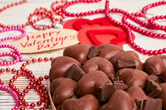 Bead garland and sweets. Royalty Free Stock Image