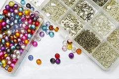 Bead and hook Royalty Free Stock Photography