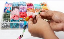 Bead jewelry Stock Photos