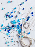 Bead making accessories Royalty Free Stock Photography
