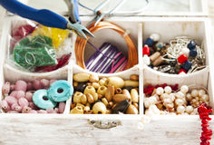 Bead making accessories Stock Image
