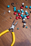 Bead making accessories Royalty Free Stock Image