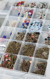 Bead making tray. Royalty Free Stock Photos