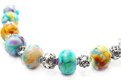 Bead necklace Royalty Free Stock Photography
