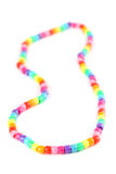 Bead necklace Royalty Free Stock Images