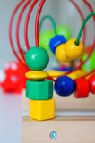 Bead roller coaster Royalty Free Stock Photography