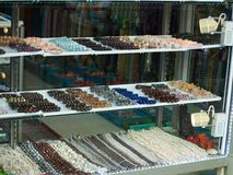 Bead shop Royalty Free Stock Photo