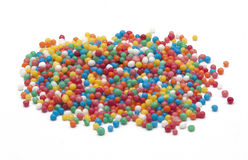 Bead Sprinkles for cake decoration Stock Image