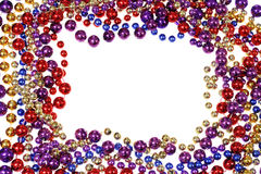 Bead string border Stock Photography