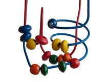 Bead toy Stock Image