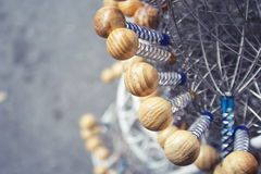 Bead. Wooden cooking eggs for sale Royalty Free Stock Photography