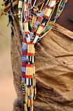 Bead work in tanzania Stock Photography